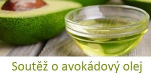 Soutěž o 3 avokádové oleje