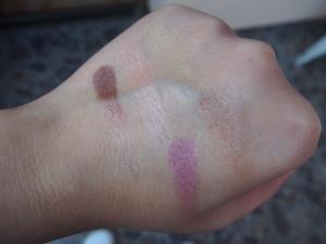 Pigmentace L.A. Colors paletky