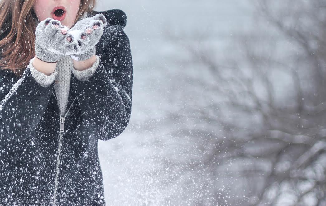 krásná i v zimě
