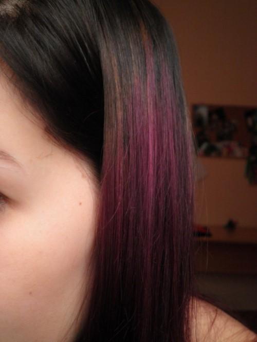 fialový přeliv
