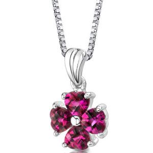 náhrdelník s kytičkou