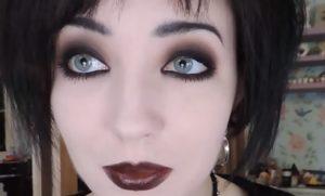 Ukázka Gothic líčení