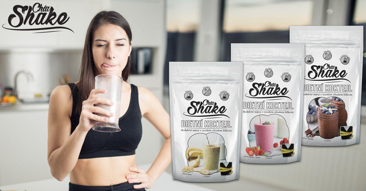 Chia shake recenze- dietní koktejly s ovocem